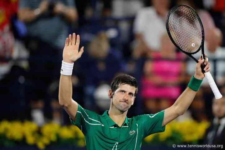 ATP Dubai: Novak Djokovic storms over Philipp Kohlschreiber in under an hour