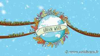 Green Week CentraleSupélec 2020 CentraleSupélec,campus Paris-Saclay Gif-sur-Yvette 23 février 2020 - Unidivers