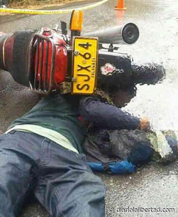 Un muerto deja accidente de moto en Alcalá, norte Valle - Diario La Libertad