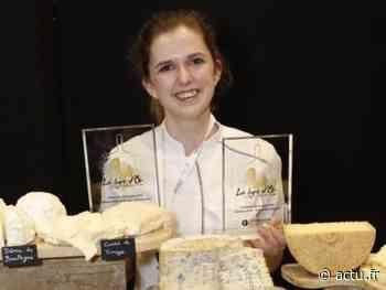 Alice Basse, fromagère à Bondues, primée au Salon du fromage de Paris - actu.fr