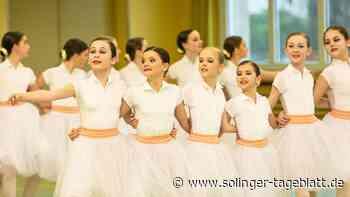 Ballettschüler sind fit für Wettbewerb