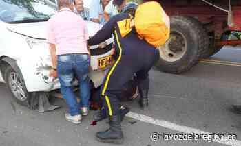 Hombre gravemente herido al sufrir accidente de tránsito en Campoalegre - Noticias