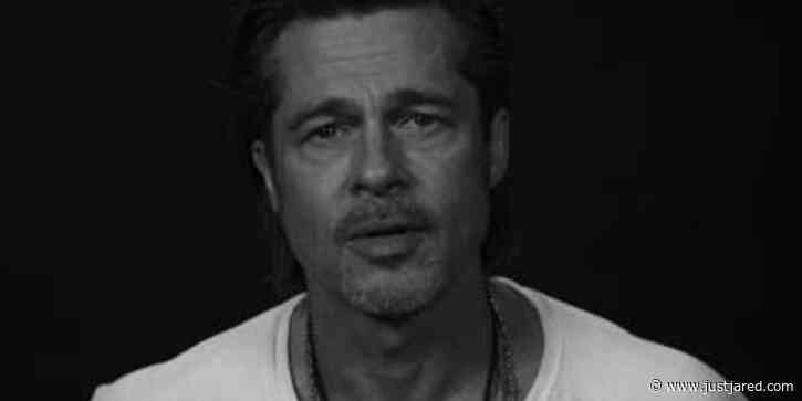 Brad Pitt Has an Urgent Message Ahead of the U.S. Election - Watch! (Video)