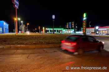 Kreisverkehr in Meerane ab 2. März dicht - Freie Presse