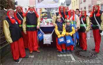 Freundschaftskreis bei Karnevalszug in Vallendar - Blick aktuell