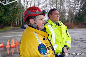 UPDATE: Two missing scout leaders found near Sooke after swollen creek traps troop - Maple Ridge News