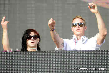 Skrillex and Diplo stopped by police as they attempt to DJ from dressing room window – watch | NME - NME.com