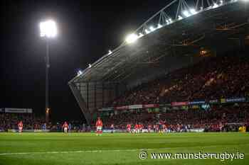Ticket Update | Scarlets At Thomond Park On Saturday - Munster Rugby