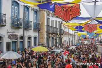 Com diversas atrações, quarto dia de folia agita Mariana - Mais Minas