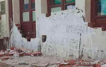Ebrios intentaron destapiar la Alcaldía de Chulumani - Red Erbol