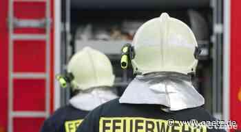 Funken lösen Feuer in Schreinerei in Parkstein aus - Onetz.de