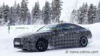 BMW i4 Caught During Cold Weather Testing: Interior Revealed