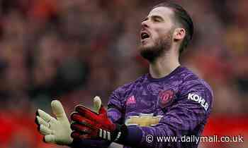 Manchester United 'could sell David De Gea to raise funds for the summer transfer window'
