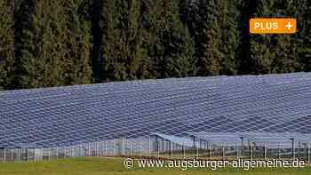 Landwirt will Solarpark bei Ederheim bauen - Augsburger Allgemeine