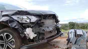 Acidente na BR-365 em Monte Alegre de Minas deixa duas pessoas feridas - G1
