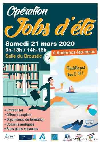 Jobs d'été Andernos-les-Bains, 21 mars 2020 - Unidivers