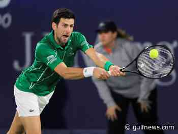 Novak Djokovic, Gael Monfils book quarter-final spots in Dubai Duty Free Men's Open - Gulf News