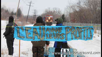 Lennoxville rail blockade leads to 19 arrests - Sherbrooke Record