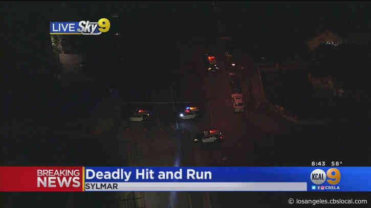 Woman Fatally Struck By Hit-And-Run Driver In Sylmar
