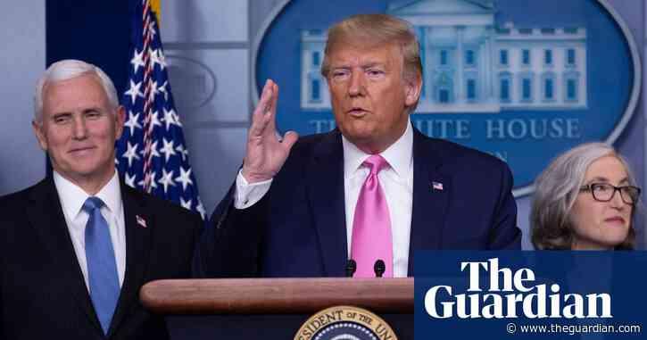 Coronavirus: Trump says US risk 'very low' as Australian PM warns pandemic is 'upon us'