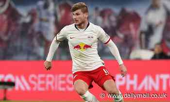 Man Utd and Barcelona both move for Timo Werner but he is waiting for Liverpool