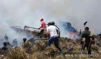 Incendio de grandes proporciones amenaza el Páramo de Pisba, piden ayuda aérea - W Radio