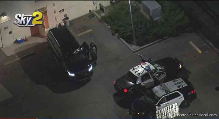 Police Search For Person Who Stole Hearse With Woman's Body In Back From Church Near Pasadena
