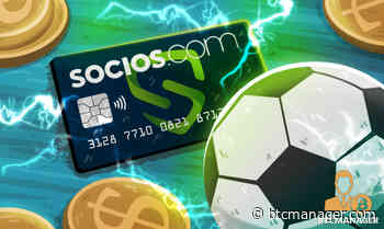 Socios.com Launching Debit Card with Chiliz (CHZ) Support - BTCMANAGER