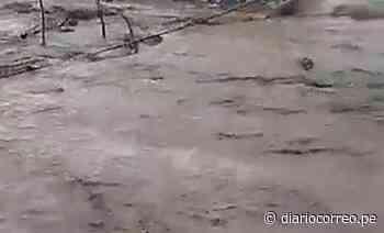 Caudal del río de Lluta, Caylloma en gran crecida - Diario Correo