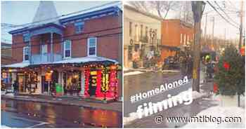 Pointe-Claire Village Transformed Into A Christmas Scene For The Home Alone Reboot (Video) - MTL Blog