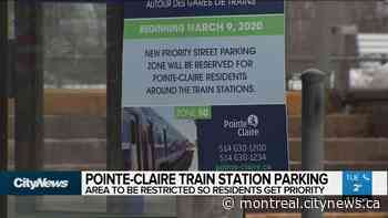 Parking at Pointe-Claire train stations - CityNews Montreal