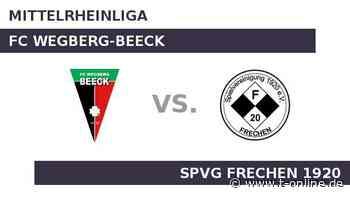 FC Wegberg-Beeck gegen SPVG FRECHEN 1920: Frechen 20 startet Rückrunde gegen Beeck - t-online.de