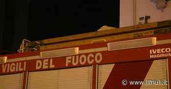 Incendio in una lavanderia di Azzano Decimo - Il Friuli
