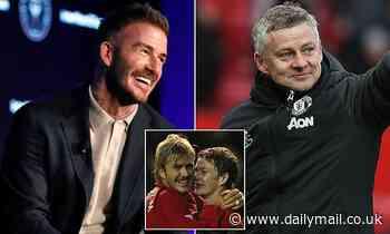 David Beckham praises Man Utd boss Solskjaer and says he is acting like Sir Alex Ferguson