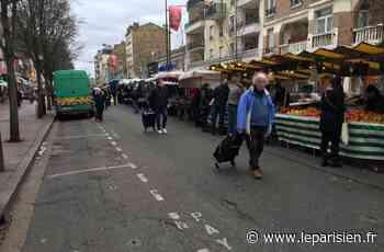 Le marché interdit à Livry-Gargan… mais pas sur le trottoir d'en face - Le Parisien