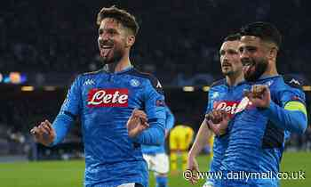 Napoli 'take important steps in tying down Dries Mertens to a new deal'