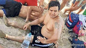 Tres jóvenes salvan de ahogarse en mar de Vice - La Hora