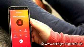 Solingen: Retter orten Unfallopfer bald über das Handy | Solingen - solinger-tageblatt.de