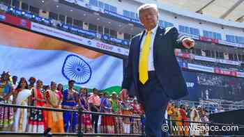Trump hails India's 'impressive strides' on moon exploration, pledges greater cooperation on space