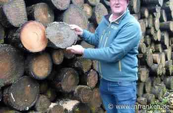 Was die Fontänen im Holzlager in Oeslau bedeuten