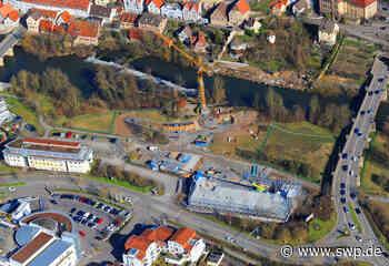 Baufortschritt in Besigheim: In der Enzaue geht es voran - SWP