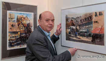 Vernissage im Rathaus: Fokus auf das malerische Besigheim - SWP