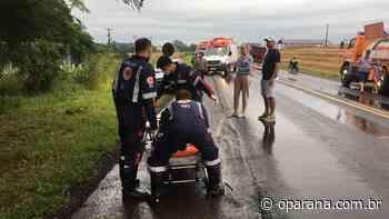 Moradores de Santa Izabel do Oeste sofrem grave acidente na PR-182 - O Paraná
