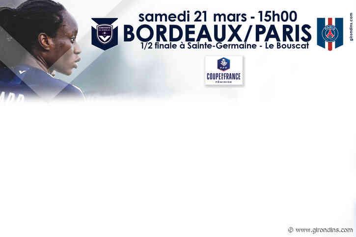 Bordeaux-Paris, samedi 21 mars à 15h