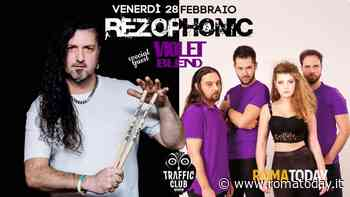Violet Blend insieme ai Rezophonic in concerto a Roma