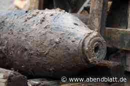 Notfälle: Amerikanische 500-Pfund-Fliegerbombe in Hamburg entdeckt