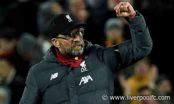 In numbers: How Klopp and Shankly won 21 home games in a row