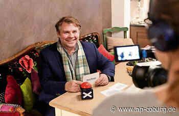 Coburger OB-Kandidaten vor der Kamera: René Hähnlein