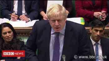 PMQs: Corbyn and Johnson clash on floods response
