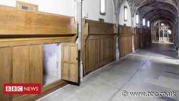 Lost doorway reveals historic secrets in Parliament